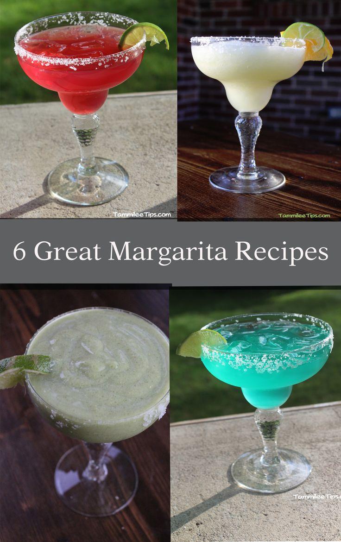 6 great margarita recipes