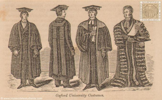 Vestimenta de la Universidad de Oxford