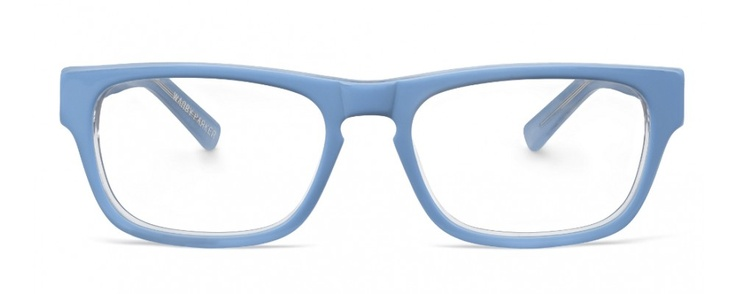 Warby Parker - Roosevelt - Bondi Blue  I own 2 pairs because I lost them, replaced them, found the first pair again.