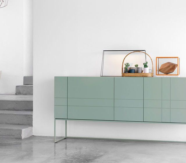 MINIMAL SIDEBOARD DESIGN| pastel blue sideboard for a contemporary decor  | bocadolobo.com/ #modernsideboard #sideboardideas