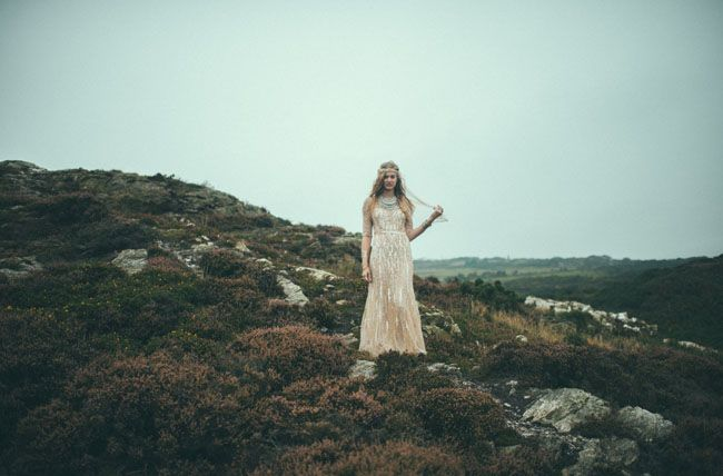 Dreamy Bridal Inspiration from Ireland greenweddingshoes.com