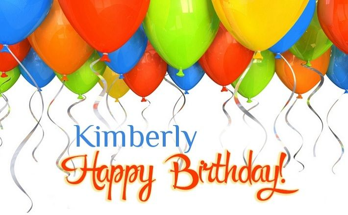 Happy Birthday Kimberly Tween Birthday Party Kids Party Venues Birthday Party For Teens