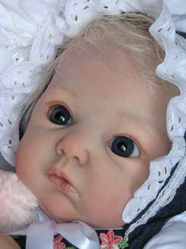 "Reborn Baby Doll Gorgeous ""Lola"" by Adrie Stoete now ""Bree"""