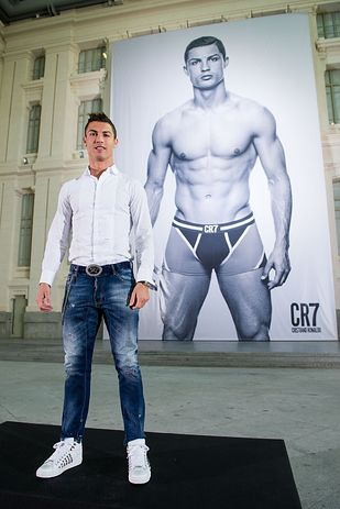 "Cristiano Ronaldo Launches New And Very Necessary ""CR7"" Underwear Line"