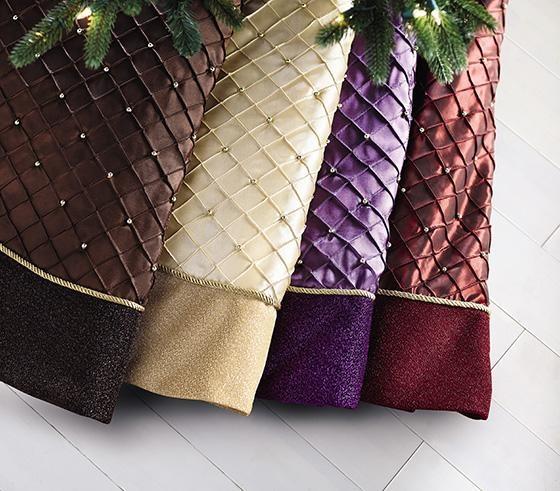 Best christmas tree skirts images on pinterest