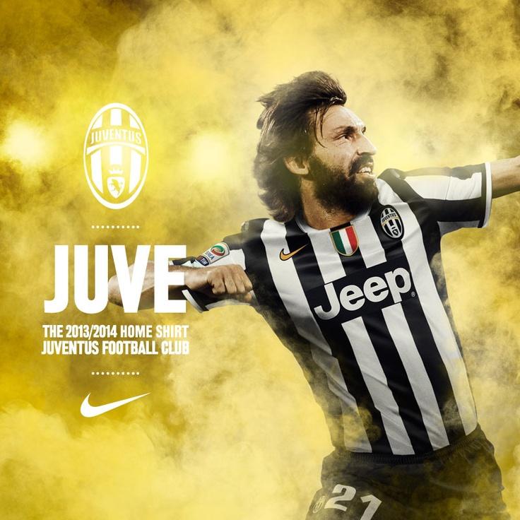 Juventus 2013/14 Home Kit by Nike