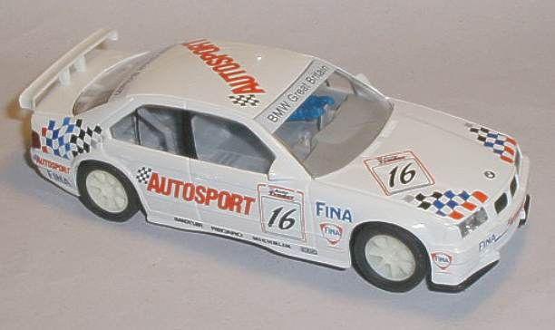 Scalextric car C571 BMW 318i Autosport