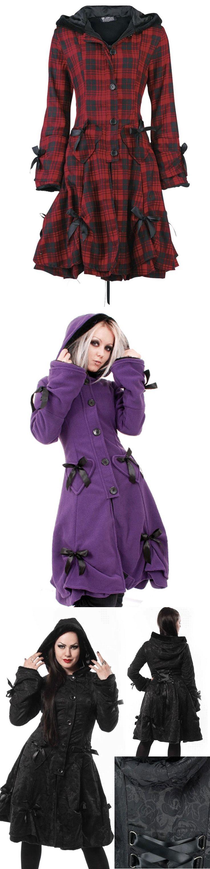 Shop cute goth coats for fall at RebelsMarket!