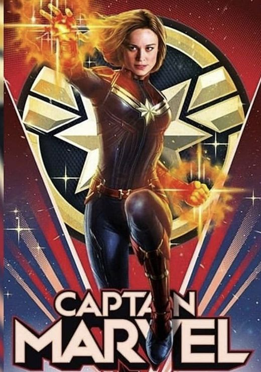 Capitana Marvel Película Completa Captain Marvel Poster Marvel Hero Marvel