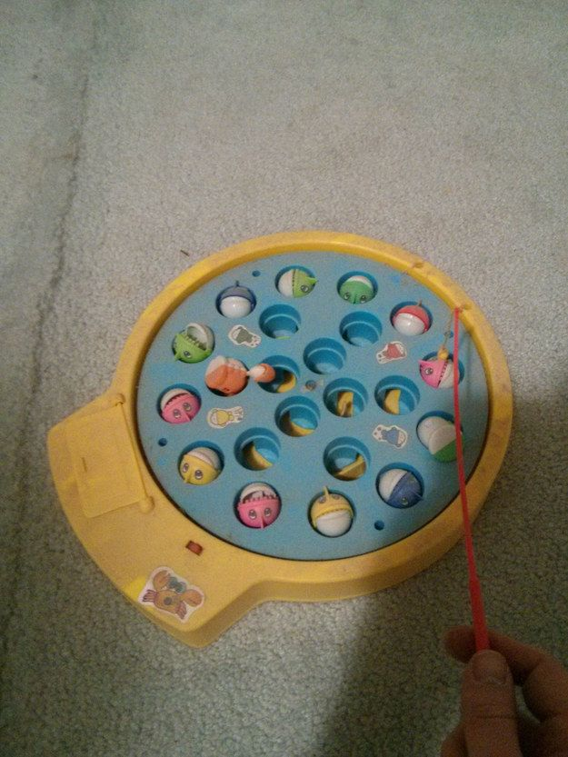 My brother got his finger stuck in one of these toys when we were little. My gramma was babysitting... She had to call 911 to come cut it off his finger... HAHAHA!