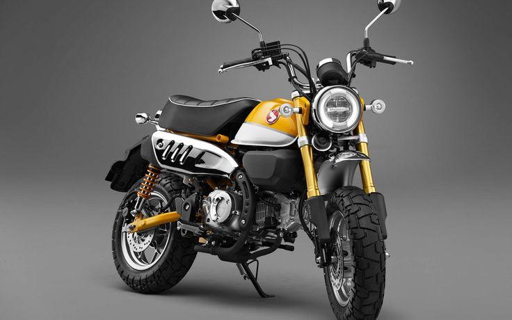 2019 Honda Monkey 125 Concept Bike, 4k Wallpaper