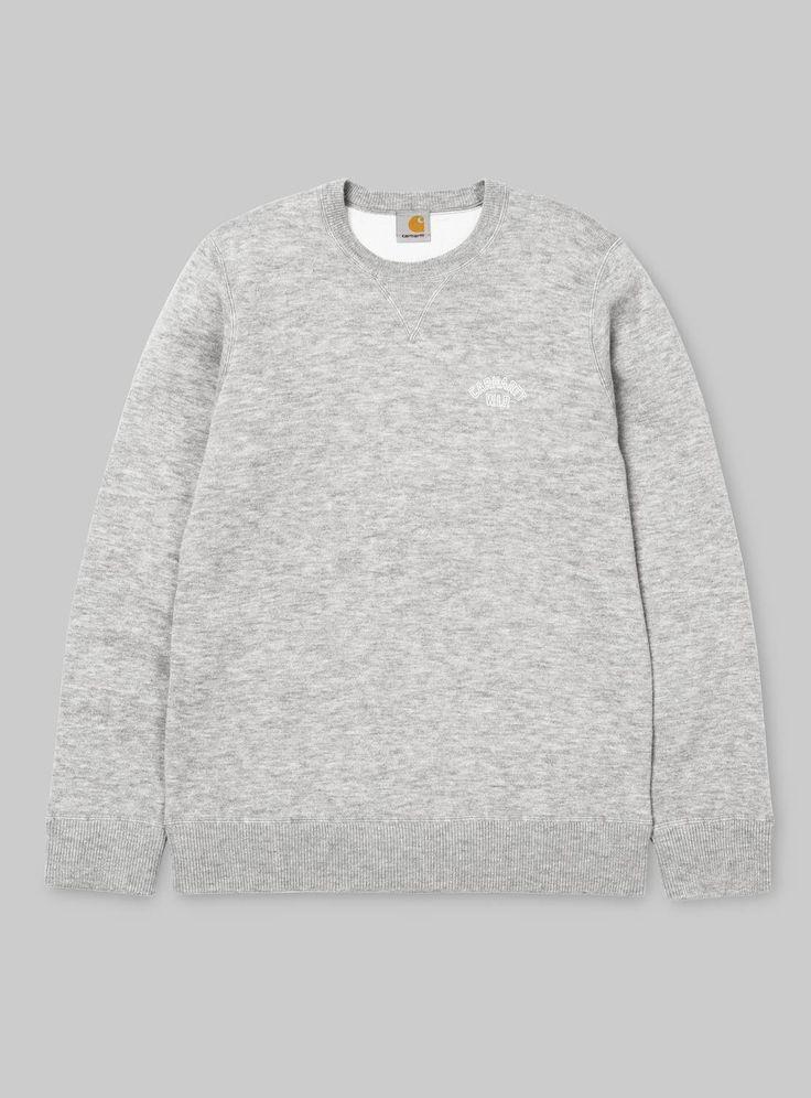 Carhartt WIP Pull Stanton Bleu Sweaters t