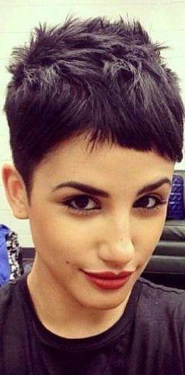 Speciaal voor dames met zwart haar! 12 stoere korte kapsels! - Kapsels voor haar