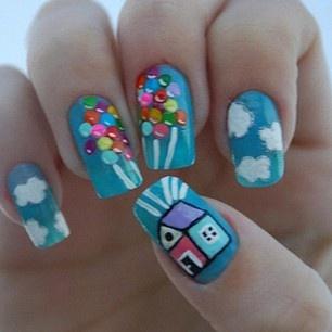 such a cute nail design <3
