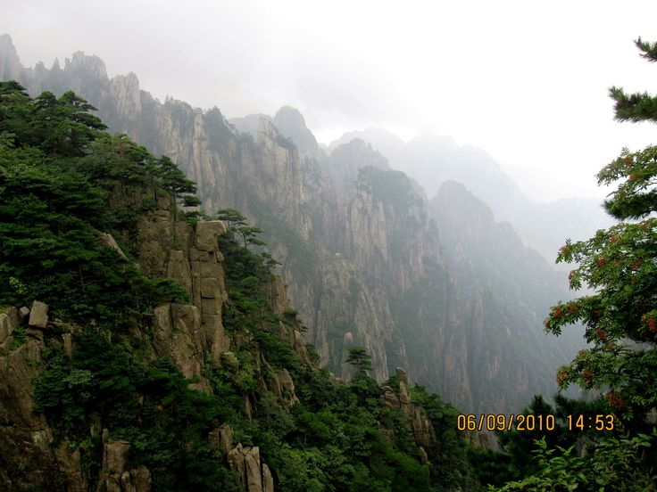 huangshan (yellow mountain): nature at it's marvellous… Leave a ...