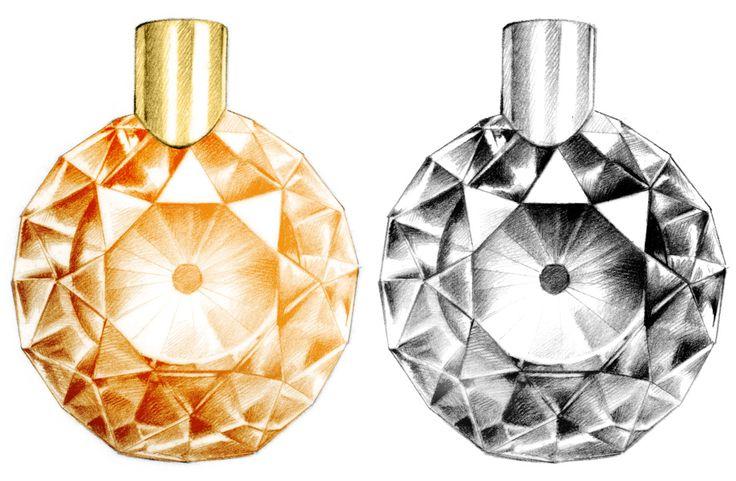 illustration parfum Lancôme Florence Gendre