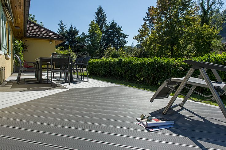 UPM ProFi Deck 150 Silver Green in l'Etoile, France.