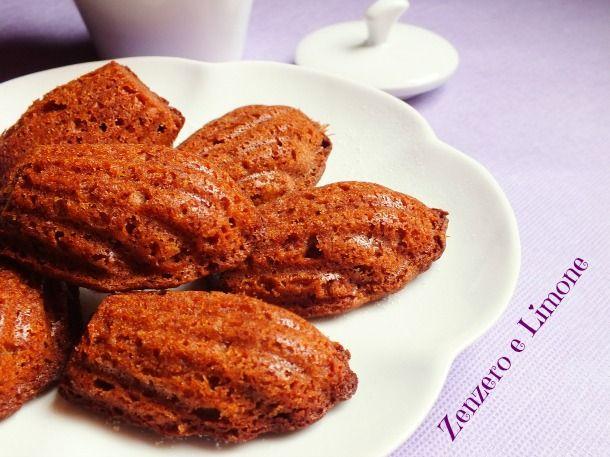 Le madeleines alla nutella sono dei piccoli dolcetti preparati con un impasto semplicissimo a base di questa paradisiaca crema di nocciole