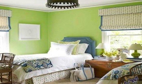 ديكورات باللون الأخضر لمنزل يتمي ز بالهدوء والراحة النفسية Bedroom Wall Colors Green Baby Room Sage Green Paint