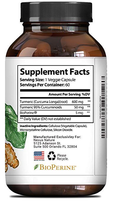 Nexus Nature, Pure Turmeric Curcumin Extract with Bioperene - Pure Turmeric Curcumin Extract with Bioperene – Best All Natural Ground Root Supplements – Top Antioxidant Benefits – Capsules for Men + Women – Immune Response + Joint Health http://www.pickvitamin.com/nexus-nature-pure-turmeric-curcumin-extract-with-bioperene-60-capsules.html