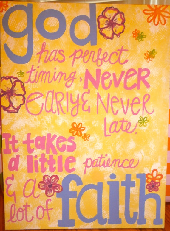 Custom handpainted inspirational wall art by CraftsByCarlie, $12.00