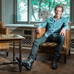 US Actor Kevin Bacon in Munich to present his new TV series 'I Love Dick'