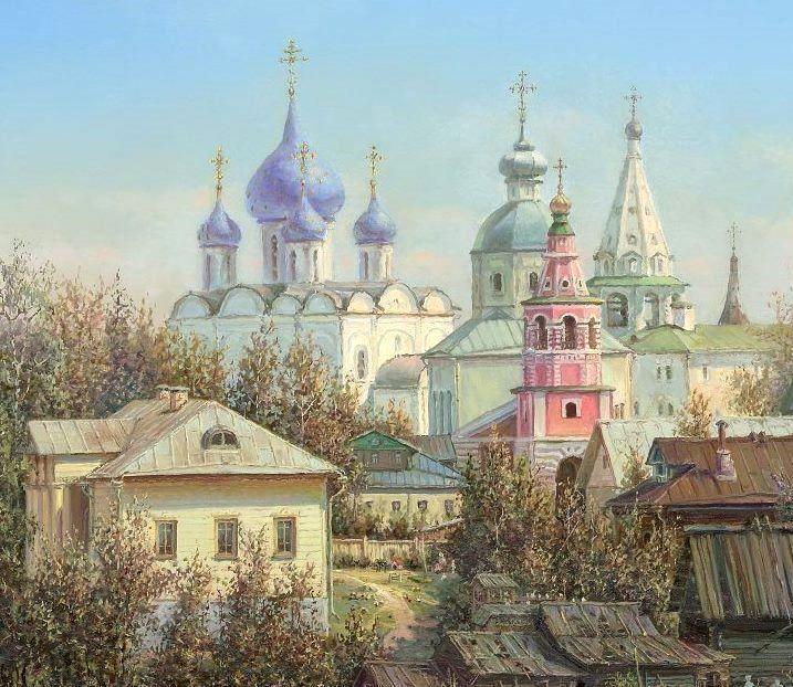 Панин Сергей.  Россия Православная.  Суздаль (фрагмент 1)