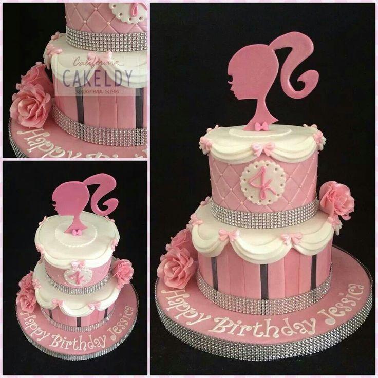 Barbie dream cake