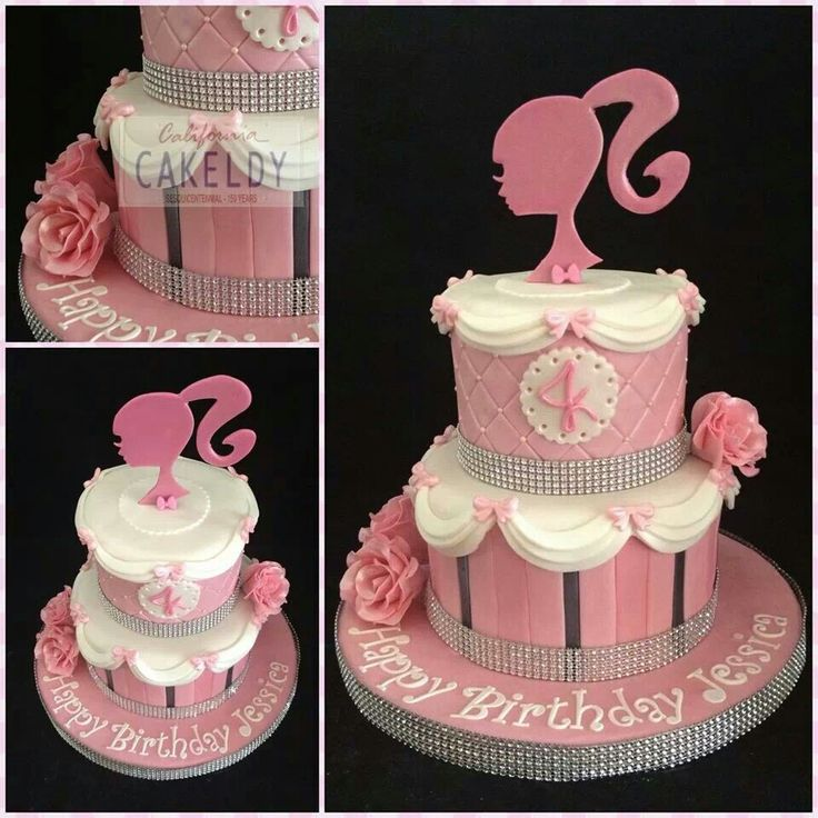 Barbie dream cake
