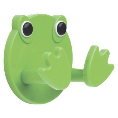 Frog Hook (coats, towels, etc) ($4.98 at Target) might need to get. :)