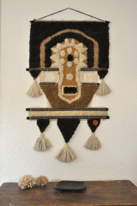 don freedman fiber art wall hanging
