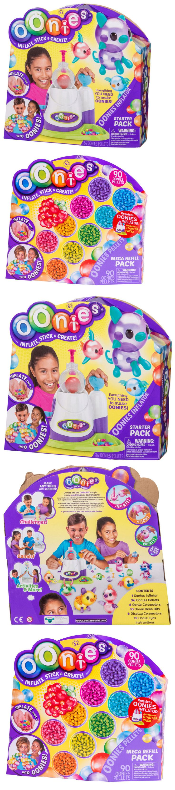Other Kids Crafts 28145: Oonies - Inflator Starter Kit + Mega 90 Piece Refill Pack - Moose Toys 2017 New -> BUY IT NOW ONLY: $64.99 on eBay!