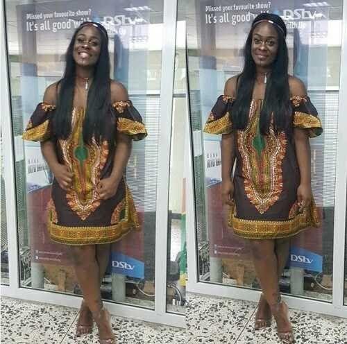 #BBNaija: Former Big Brother Naija Housemate, Uriel Arrives Lagos After Her Eviction (Photos)