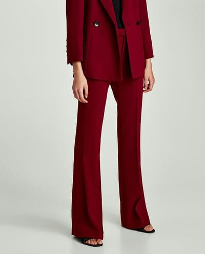 Zara Suit Burgundy