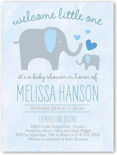11 best shower invite ideas images on Pinterest Elephant baby - baby shower invite samples