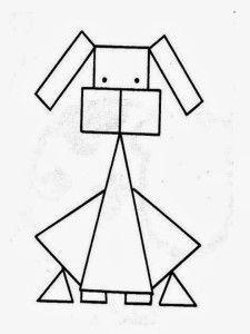 Dibujos con Figuras Geometricas Para Niños