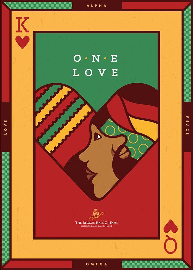 2nd place winner | Avi Marciano | US  International Reggae Poster Contest