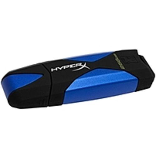 Kingston Technology DataTraveler HyperX DTHX30/256GB 256 GB USB 3.0 Flash Drive - Blue, Black