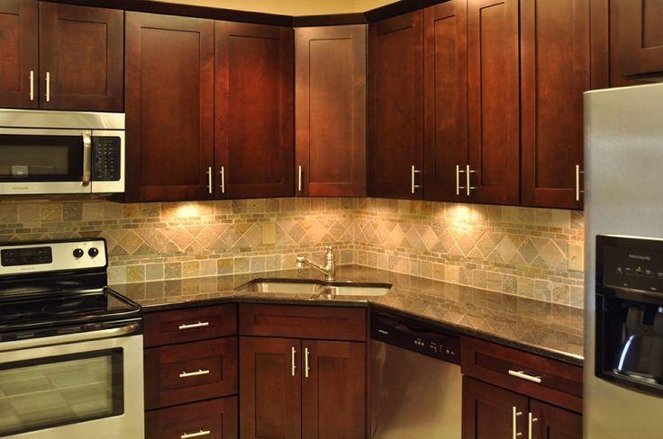 Corner sink.   Kitchen Ideas   Pinterest