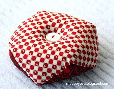 FREE project: Biscornu Pincushion (from Made By Eva)