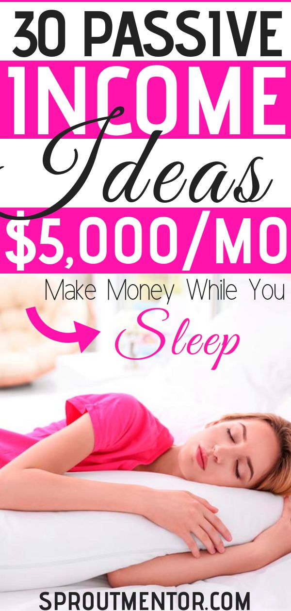 30 Of The Best Ways You Can Make Money While You Sleep – Hildah| Work From Home Jobs