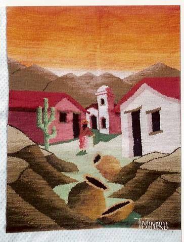 Resultado de imagen para tapices en telar del norte argentino