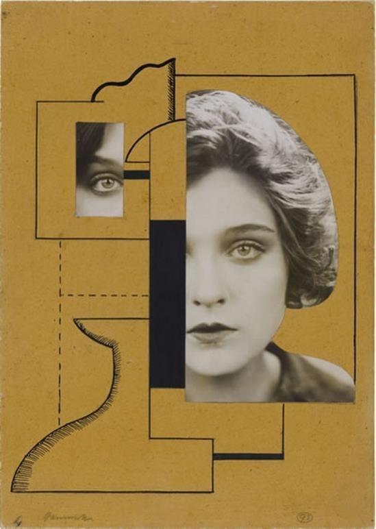 Kopf (head), 1923 Willi Baumeister