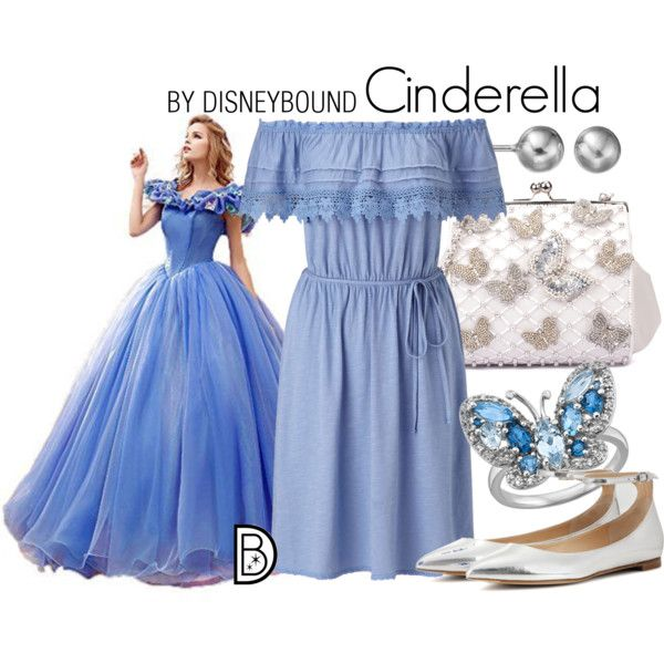 "Q: WHAT DISNEY CHARACTER MAKES YOU SMILE? A: Live-action Cinderella! We could all use the message ""have courage and be kind"" today. - Hali Ducote Get the look!"
