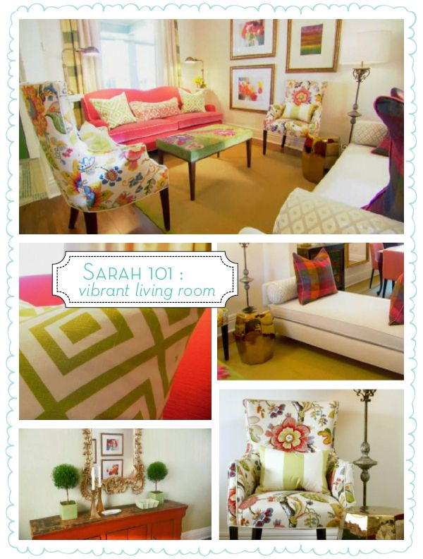 110 Best Pink And Green Living Room Images On Pinterest