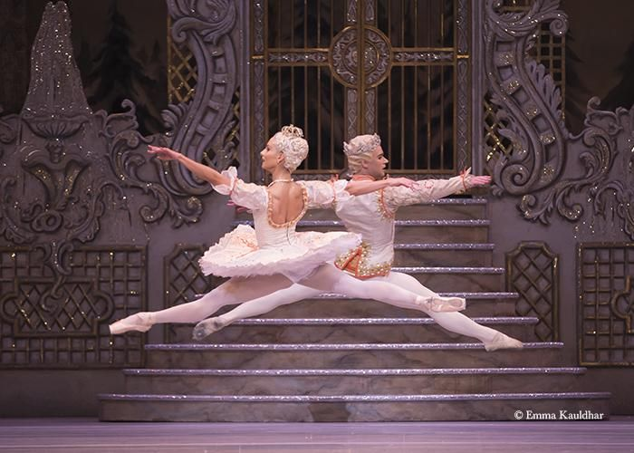 The Royal Ballet - Francesca Hayward and Alexander Campbell in Peter Wright's The Nutcracker - by courtesy of the ROH