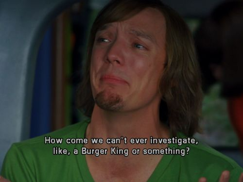 Matthew Lillard as Shaggy is one of the best things ever <3 #ScoobyDoo #Movie #MonstersUnleashed