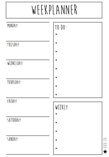272 best Homeschool Planner images on Pinterest Calendar - free printable weekly calendar