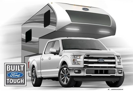 Ford Truck Camper By Livin Lite Http Www
