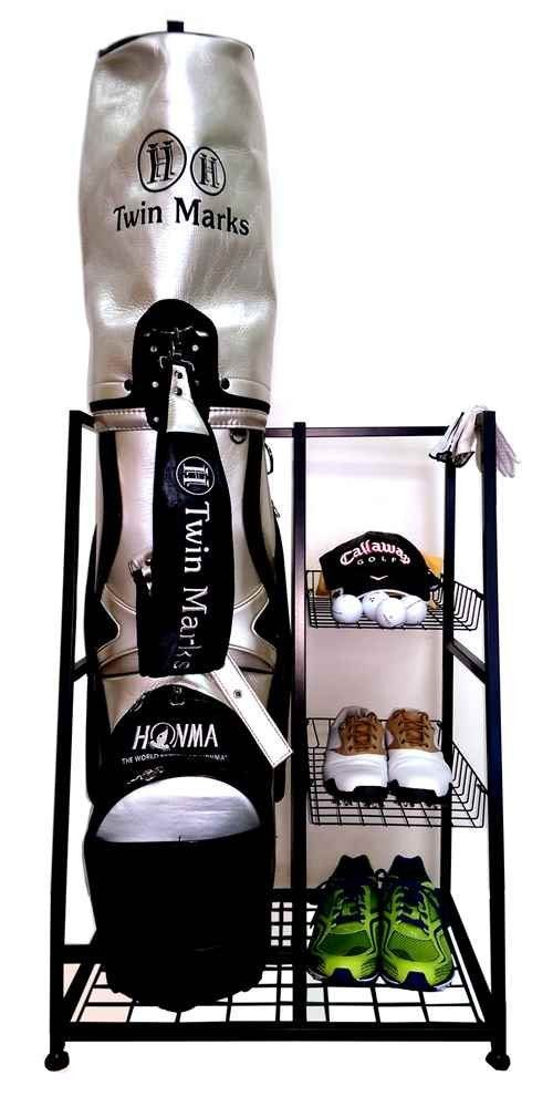 Ideal For The Single Golfer This Golf Bag Organizer Unit By JJ  International Provides All The
